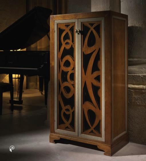 Испанская мебель ручной работы > Дизайнерская мебель > Коллекция Классика > Лола Гламур (Испания) Шкаф LG14161