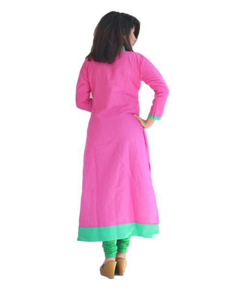 LadyIndia.com #Stitched Kurti, Garg Fashion Daily Wear Pink Designer Cotton Stitched Kurti, Stitched Kurti, Kurtas, Daily Wear Kurti, Designer Kurti, https://ladyindia.com/collections/ethnic-wear/products/garg-fashion-daily-wear-pink-designer-cotton-stitched-kurti