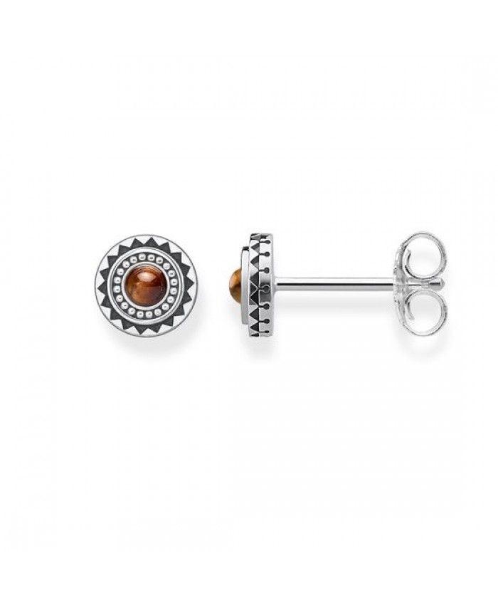 b5774333d Thomas Sabo Ethnic Brown Earrings | thomas sabo earrings | Earrings ...