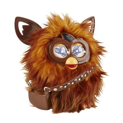 Hasbro is bringing Furby to the world of Star Wars with this Furbacca figure! This fully integrated toy and app makes wookiee sounds like Chewbacca, hums Star Wars theme songs, and plays virtual activities! This Furbacca figure takes kids into a Star Wars themed digital world via their mobile device as they explore the galaxy and collect virtual Star Wars Furby Furblings. The Furbacca companion app will be available for download in the App Store and Google Play in Fall 2015. The Furbacca…