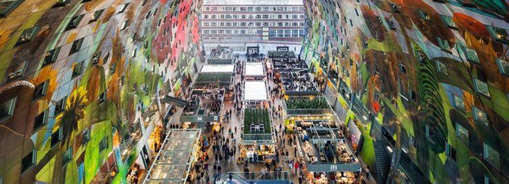 markt halle rotterdam - Google Search