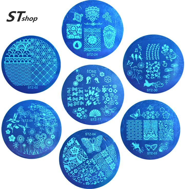 Buy 1pcs NEW Stamping Manicure Image Nail Art Image Stamp Template Plate DIY Various Arabesque Butterfly Pattern STZA01-30 at JacLauren.com