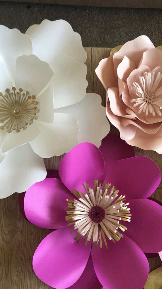 Colorful Paper Flower Backdrop For Any Occasion Flores De Papel