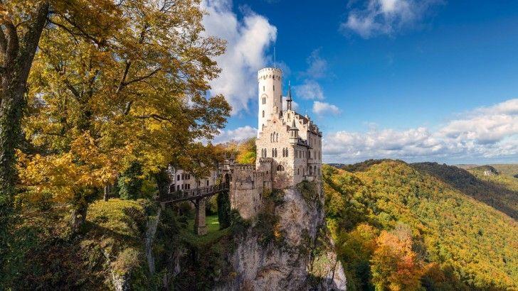 Alemania Castillo Schloss Lichtenstein