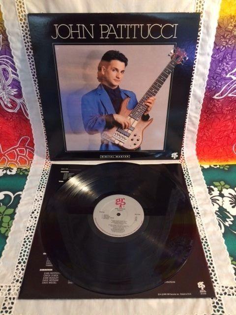 John Patitucci (Self-Titled) LP 33 RPM Vinyl Record grp 1988 GR-1049 EX/VG++