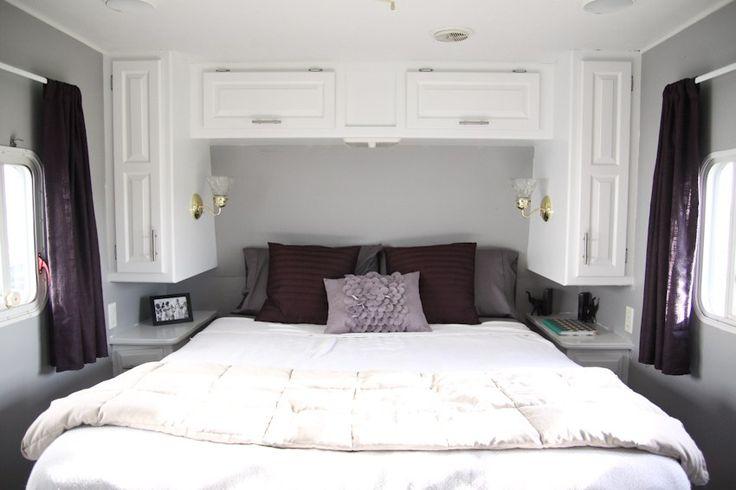 Modern Camper Bedroom Makeover