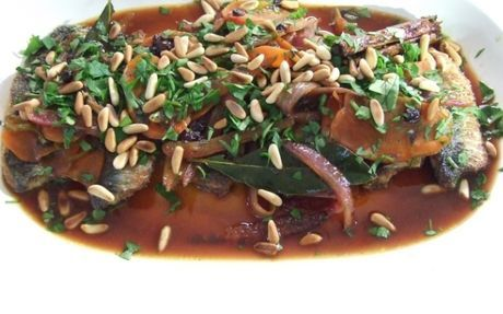 Sardines Escabeche Recipe by Thomasina Miers : Food Network UK
