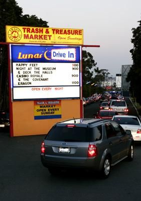 This is such a cool idea especially, take your friends and family to The Lunar Drive In - Melbourne!!