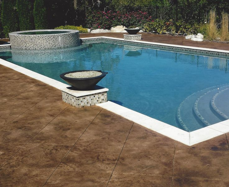 28 best swimming pool design ideas images on pinterest for Concrete pool designs