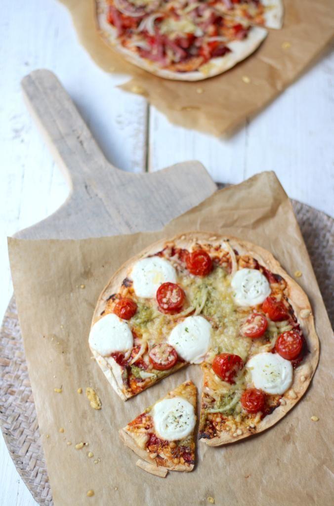 Snelle pizza wrap - Lekker en Simpel