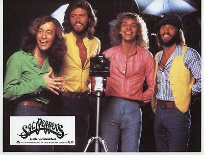 BEE GEES PETER FRAMPTON SGT PEPPER'S LONELY HEARTS CLUB BAND 78