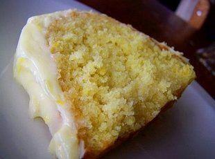 Lemon Zucchini Cake With Lemon Cream Cheese Frosting Recipe. 1 box lemon cake mix  4 lg eggs; slightly beaten  2 c zucchini; peeled & grated  4 oz pkg. instant lemon pudding  1 tsp grated lemon zest  FROSTING  3 Tbsp butter; room temp.  get recipes @ goboldwithbutter.com  3 oz cream cheese; softened  1 1/2 c powdered sugar  1 tsp grated lemon zest  1 tsp fresh lemon juice