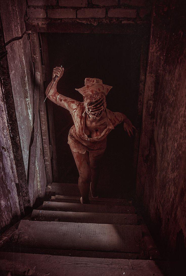 Nurse from Silent Hill by Elena-NeriumOleander.deviantart.com on @DeviantArt