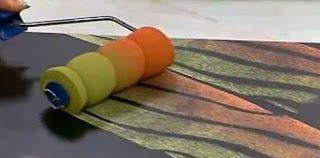 élastiques autour du rouleau : Tadam