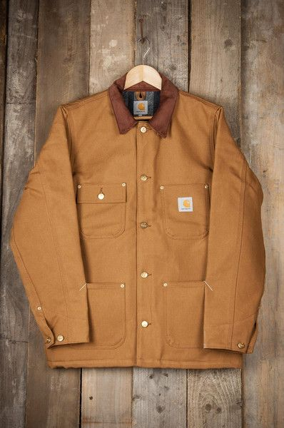 Carhartt Chore Coat Carhartt Brown Rigid 85