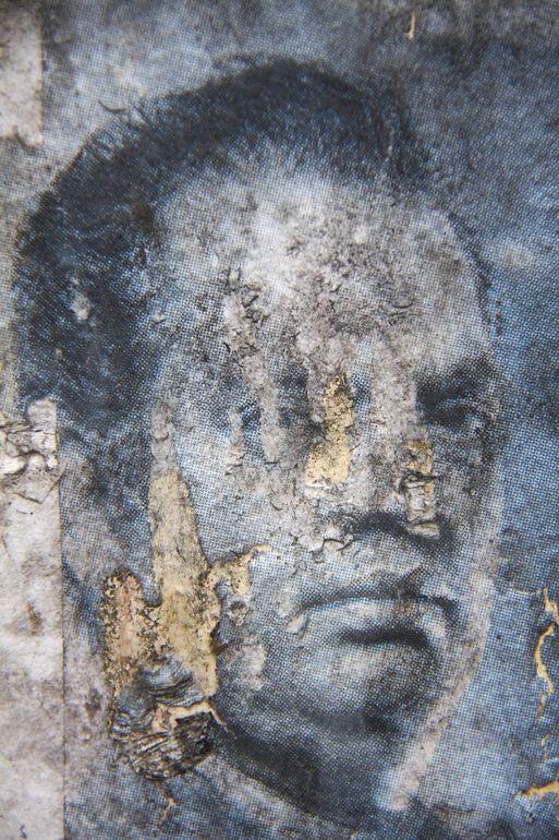 "Saatchi Art Artist: Ian Hoskin; Digital 2013 Photography ""Face_3736.jpg From the series Defaced"""