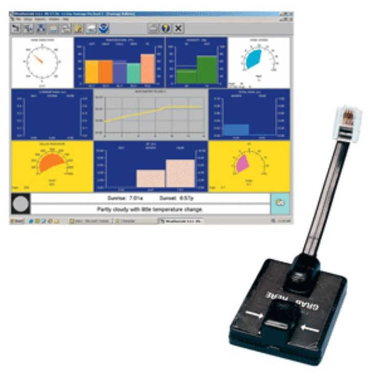 Davis WeatherLink® Windows - Serial Port f/Vantage Vue & Pro2 Series