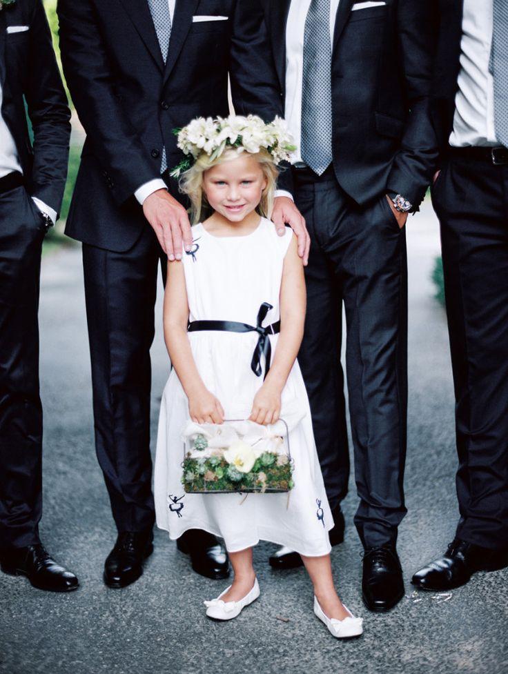 Flower Girl In Dress By Rachel Riley Jonathan Canlas Photography