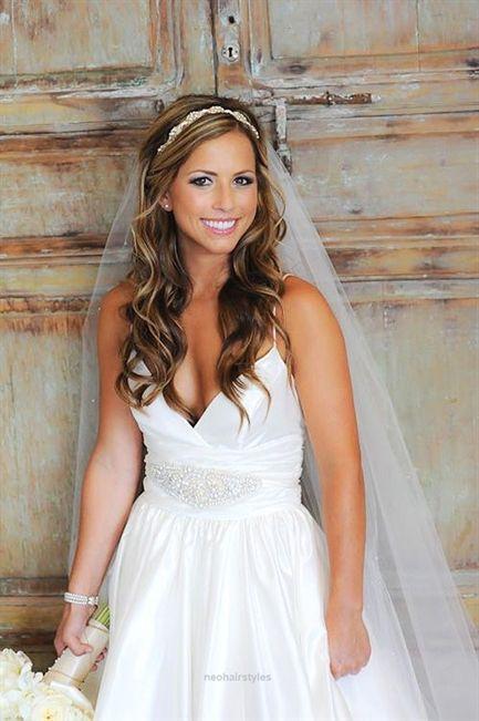 Wedding Hairstyles With Veil ❤ See more: www.weddingforwar… #weddings