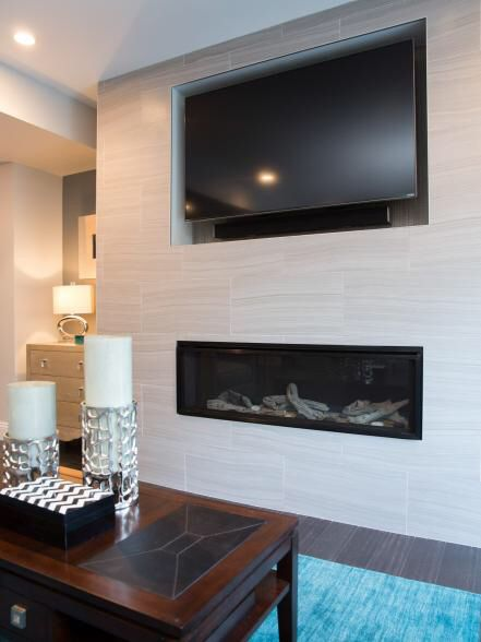 Property Brothers Living Rooms With Stone Fireplace