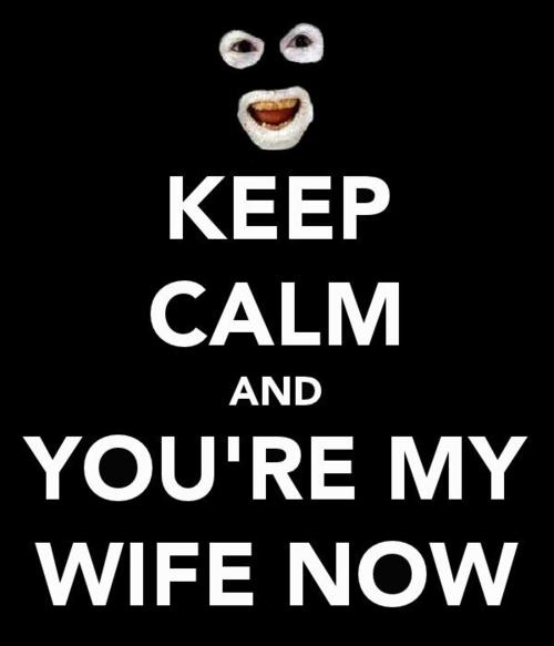 League Of Gentlemen, If i was ever to get married I would be saying this constantly!!