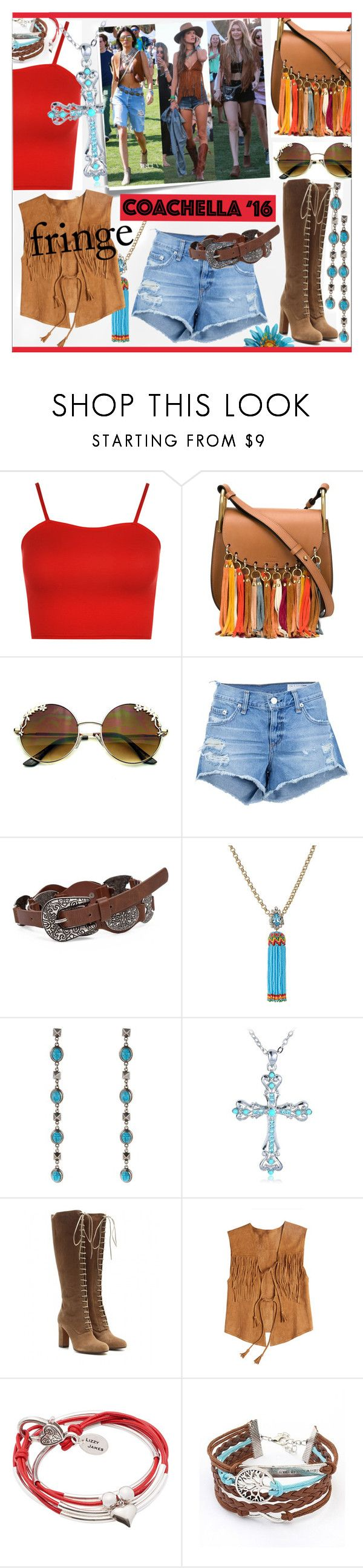 """""""Festival Trend * Fringe!"""" by calamity-jane-always ❤ liked on Polyvore featuring WearAll, Chloé, rag & bone/JEAN, BKE, Shourouk, Valentino, Post-It, Etro, Calypso St. Barth and Lizzy James"""