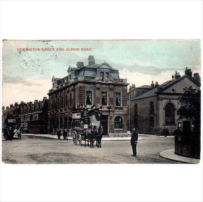 LNE: Newington Green and Albion Road London N E Postcard by Charles Martin on eBid United Kingdom