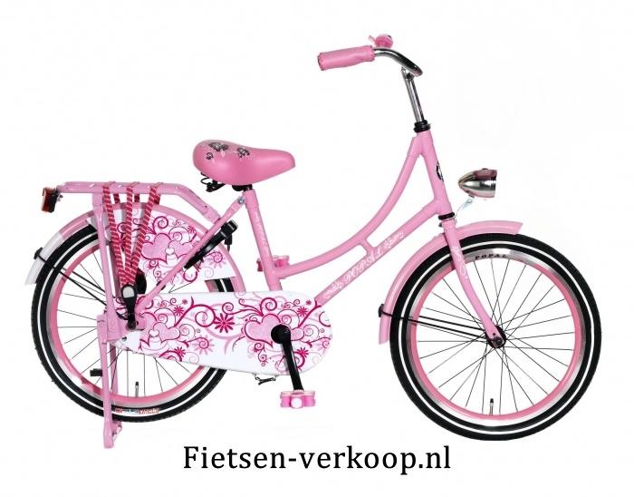 Omafiets Lichtroze 20 Inch | bestel gemakkelijk online op Fietsen-verkoop.nl