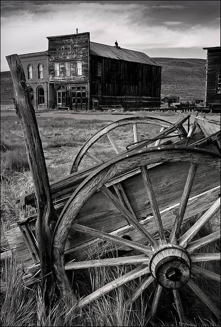 Ghost Town - Bodie, California