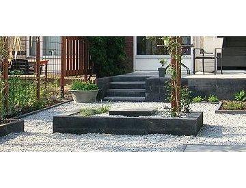 82 beste afbeeldingen over tuin op pinterest tuinen buitenleven en houtopslag - Afbeeldingen van terrassen verwachten ...