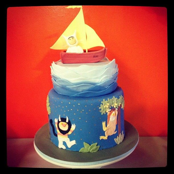 Where The Wild Things Are Cake I Made This Pinterest