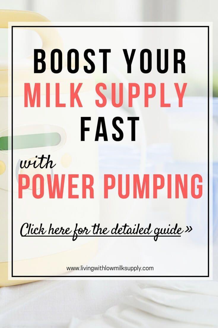 Power Pumping To Increase Milk Supply  Increase Milk -6571