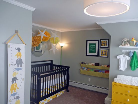 Adorable Baby Room! Lots of Great Ideas in here...