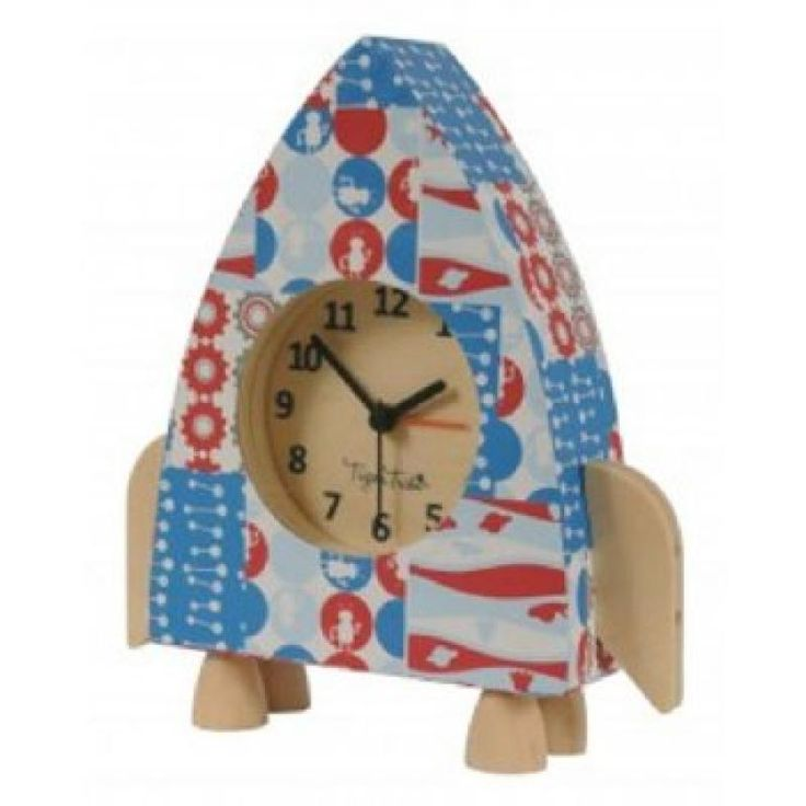 Paper Moon Rocket Clock - Tiger Tribe for sale by Little Shop of Treasures. Other Tiger Tribe available now at LSOT.
