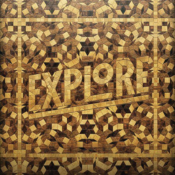 Tiling Typography by Dusk http://mindsparklemag.com/design/tiling-typography/