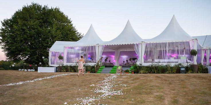 C'est beau, c'est chic un mariage sous une tente Langlois !