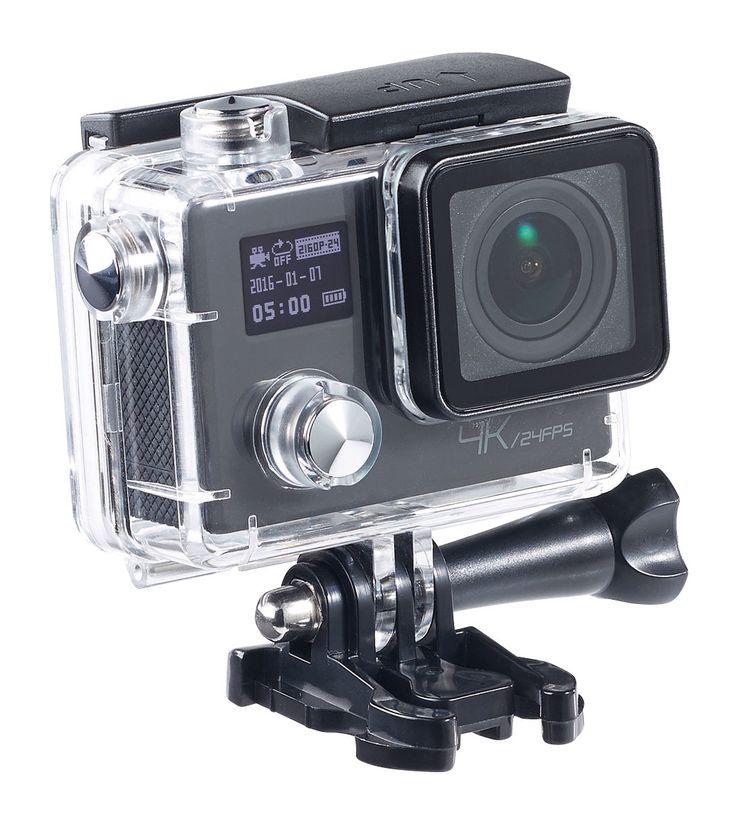 La caméra sport NX4292 de Somikon possède une définition d'enregistrement étonnante de 3840 x 2160 pixels (4K UHD) utilisable même de nuit grâce à sa vision nocturne.