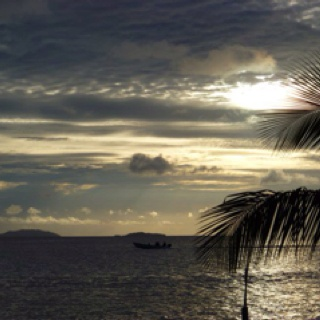 Federated States of Micronesia - Chuuk at sunset!
