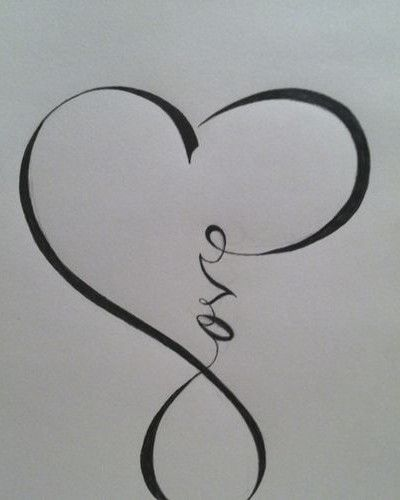 Love, Infinity | Tattoo Ideas Central