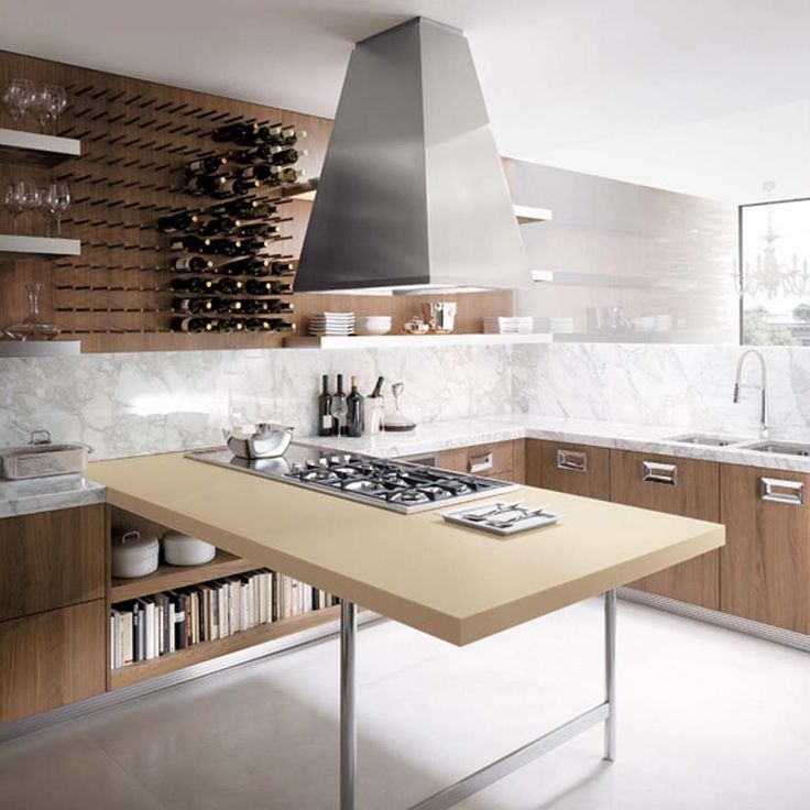 Wonderful Innovative Kitchen Design Ideas Part - 14: It Is About Smart Small Kitchen Island Ideas: Smart Ceiling Lighting In  Small Kichen ~