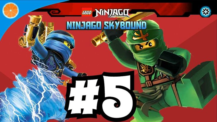 Lego NinjaGo Skybound level 5 kids game iOS/Android game for kids Blue O...