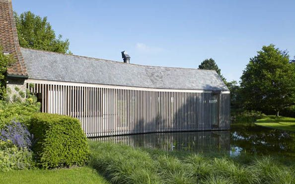 Wooden House Extension by Wim Goes Architectuur