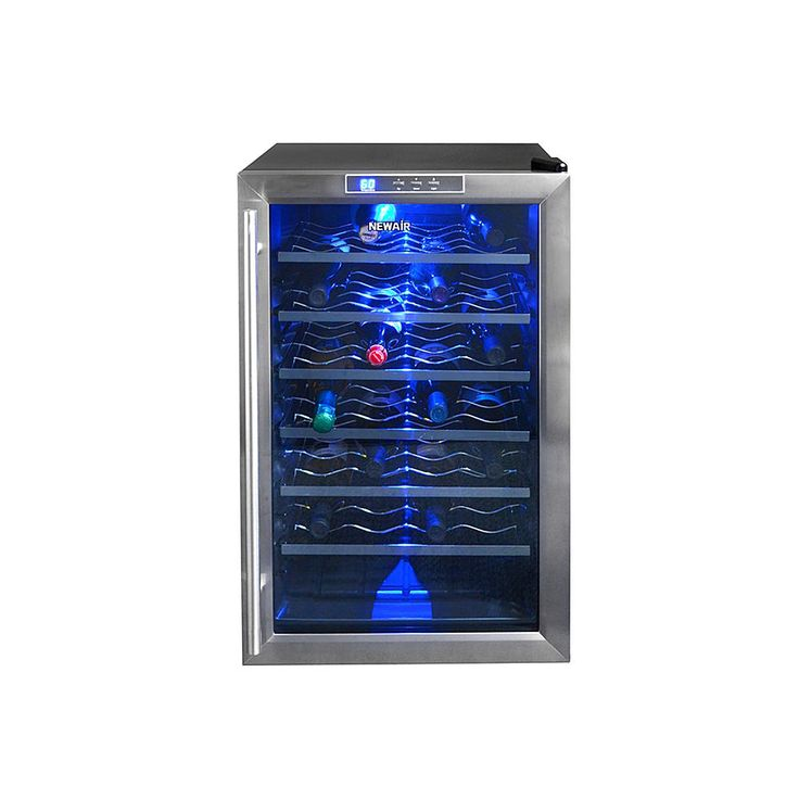 NewAir AW-281E 28 Bottle Vibration Free Thermoelectric Wine Cooler - $259 Kmart Appliances - Wine Cellars & Beverage Centers - Wine Cellars