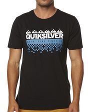 QUIKSILVER SIX PACK TEE - BLACK on http://www.surfstitch.com