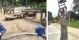 Un día con niños en Montjuïc