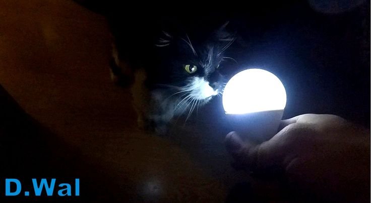 How to Make Magick Lamp (bulb) Shining in the Hand