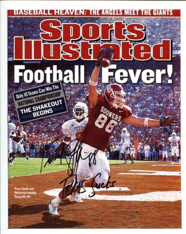 Trent Smith Oklahoma sooners football, Oklahoma sooners