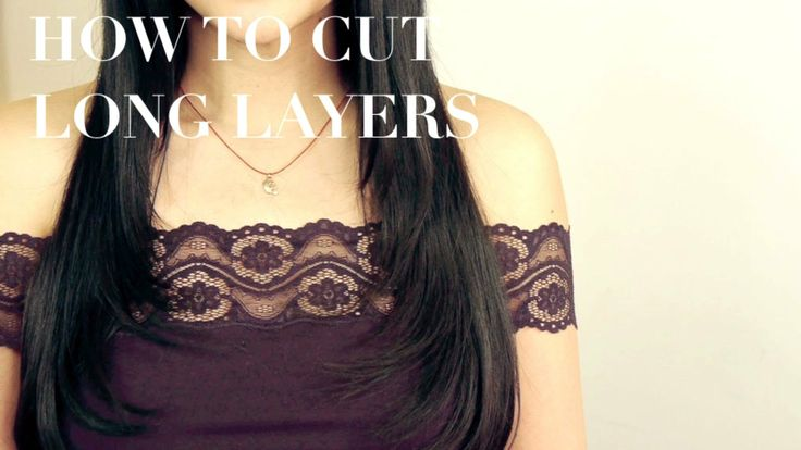 how to cut face framing layers yourself