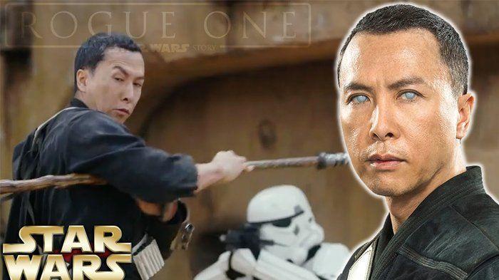 Siapa yang Perankan Chirrut Imwe dalam Star Wars: Rogue One? Inilah Donnie Yen!