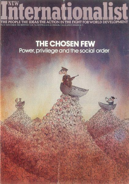 New Internationalist magazine, Issue 093 'The Chosen Few - Power, privilege and the social order' November 1980